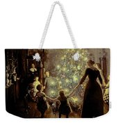 Silent Night Weekender Tote Bag by Viggo Johansen