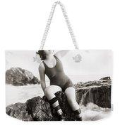 Silent Still: Bather Weekender Tote Bag