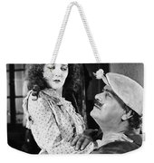 Silent Still: Man & Woman Weekender Tote Bag