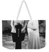 Silent Still: Weight Weekender Tote Bag