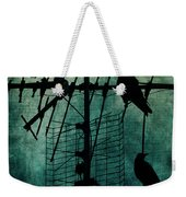 Silent Threats Weekender Tote Bag by Andrew Paranavitana