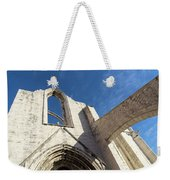 Silent Witness - Carmo Convent Roofless Ruin In Lisbon Portugal Weekender Tote Bag
