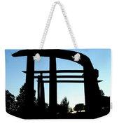 Silhouette At Sundown Weekender Tote Bag