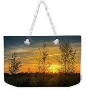 Silhouette By Sunset Weekender Tote Bag
