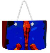 Silhouette Of Sadness Weekender Tote Bag