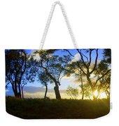 Silhouette Of Trees Weekender Tote Bag