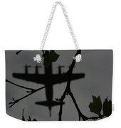 Silhouette Of War And Peace Weekender Tote Bag