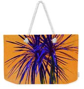 Silhouette On Orange Weekender Tote Bag by Margaret Saheed