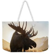 Silhouetted By The Sunrise Weekender Tote Bag