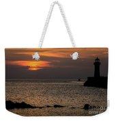 Silhouetted North Pier  Weekender Tote Bag