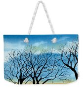 Silhouettes Against The Sky Weekender Tote Bag