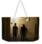 Silhouettes In Fez Weekender Tote Bag