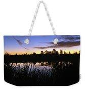 Silhouettes Of Sunrise Weekender Tote Bag
