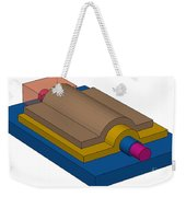 Silicon Nanowire Weekender Tote Bag