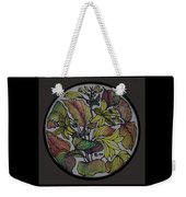 Silk Leaves Weekender Tote Bag