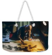 Silk Screen Artist Weekender Tote Bag