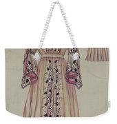 Silk Taffeta Costume Weekender Tote Bag