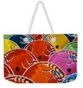 Silk Umbrella Factory Weekender Tote Bag