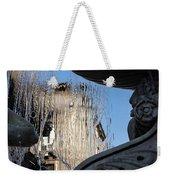 Silken Fountain Curtain -  Weekender Tote Bag