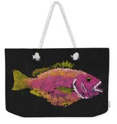 Silky Snapper Weekender Tote Bag by Captain Warren Sellers