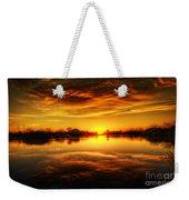 Silky Sunset  Weekender Tote Bag
