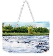 Silky Susquehanna River Weekender Tote Bag