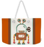Silly Wind-up Toy Weekender Tote Bag