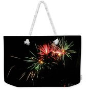 Silute 500. Lithuania. Fireworks 01 Weekender Tote Bag