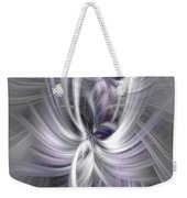 Silver Abstract Ascension. Mystery Of Colors Weekender Tote Bag