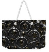 Silver And Gold Collage Weekender Tote Bag