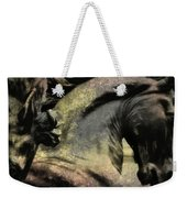 Silver And Gold  Art Weekender Tote Bag