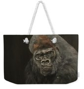 Silver Backed Gorilla Weekender Tote Bag