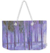 Silver Birch Magical Abstract  Weekender Tote Bag