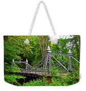 Silver Bridge 004 Weekender Tote Bag