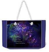Silver Chain Of Evening Rain Weekender Tote Bag