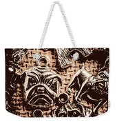 Silver Dog Show Weekender Tote Bag