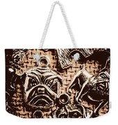 Silver Dog Show Weekender Tote Bag