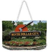 Silver Dollar City Sign Weekender Tote Bag