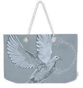 Silver Dove Weekender Tote Bag