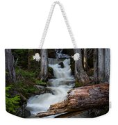 Silver Falls Weekender Tote Bag by Jason Roberts