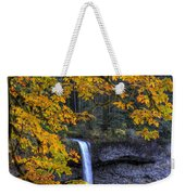 Silver Falls State Park Oregon Weekender Tote Bag
