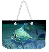 Silver Fish Weekender Tote Bag by Svetlana Sewell