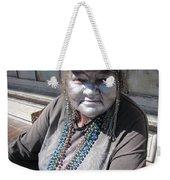 Silver Lady Weekender Tote Bag