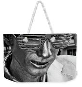 Silver Man Mime Weekender Tote Bag