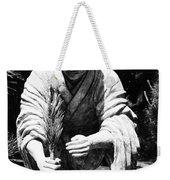 Silver-monk Weekender Tote Bag