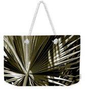 Silver Palm Weekender Tote Bag