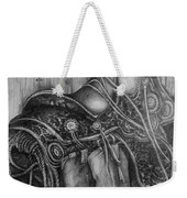 Silver Sands- Saddle And Boots Weekender Tote Bag