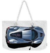 Silver Side Up Weekender Tote Bag