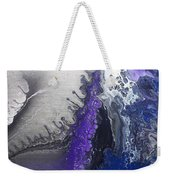 Silver Spill Weekender Tote Bag
