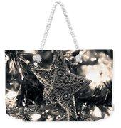 Silver Star Weekender Tote Bag